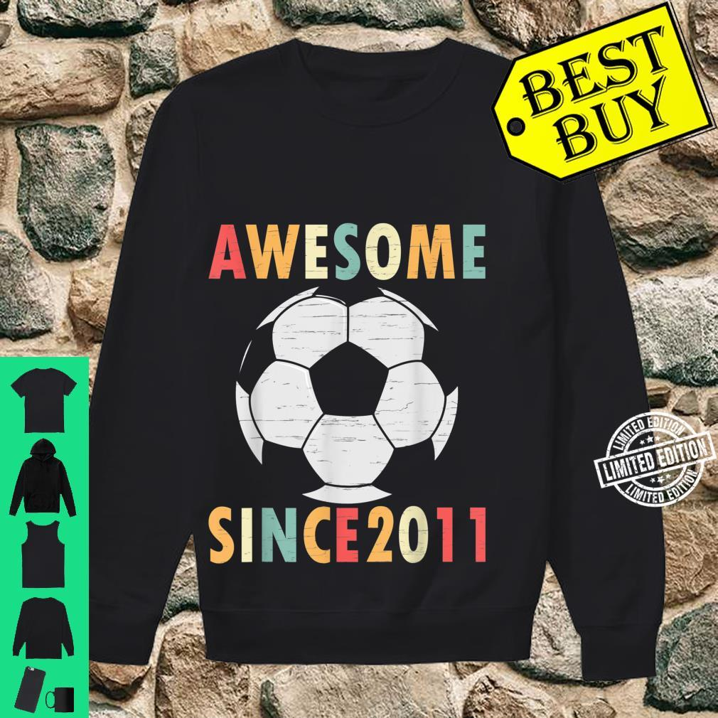 10th Birthday Soccer 10 Years Old Vintage Retro Shirt sweater