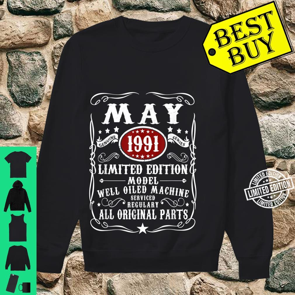 30 Years Old 30th Birthday Decoration May 1991 Shirt sweater