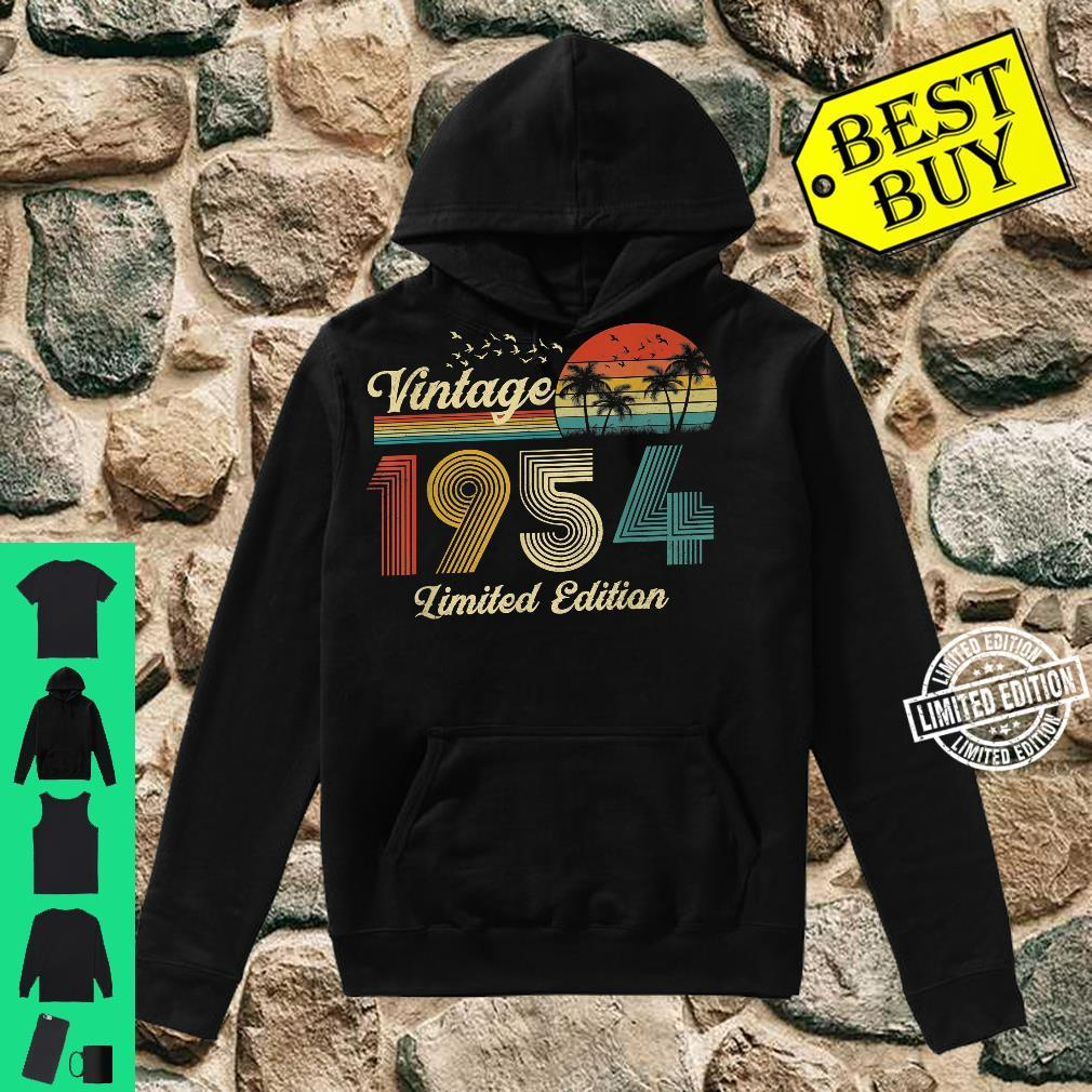67 Year Old Vintage Classic 1954 Retro Limited Edition Shirt hoodie
