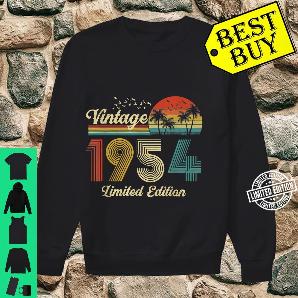 67 Year Old Vintage Classic 1954 Retro Limited Edition Shirt sweater