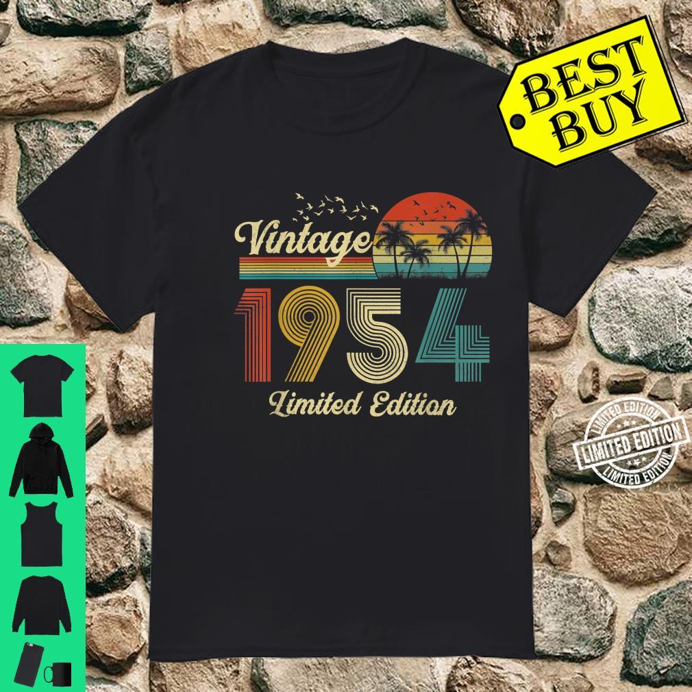 67 Year Old Vintage Classic 1954 Retro Limited Edition Shirt