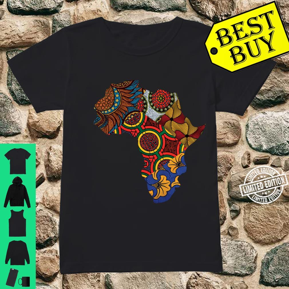 African Map Sweats By Berts Shirt ladies tee