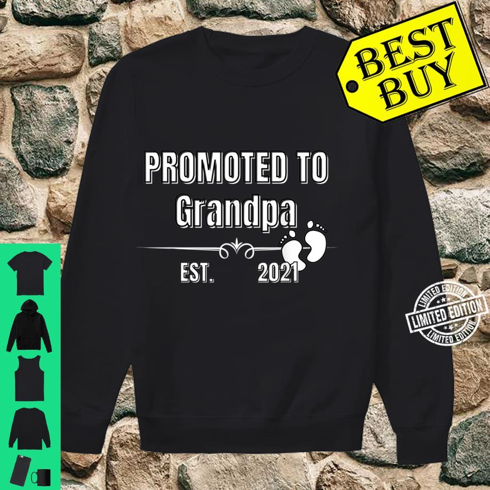 Baby Promoted to Grandpa Est. 2021 Shirt sweater