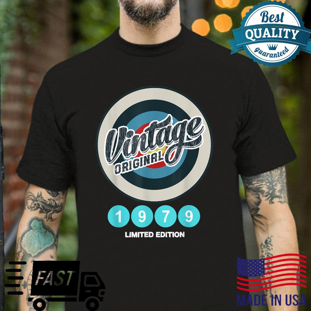 Vintage 1979 42 Years Old and 42th Birthday Shirt